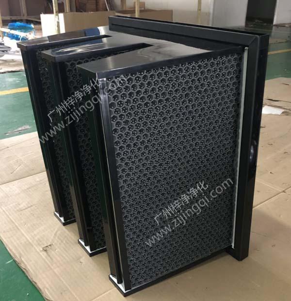 V型W型feng窝活性炭过滤器